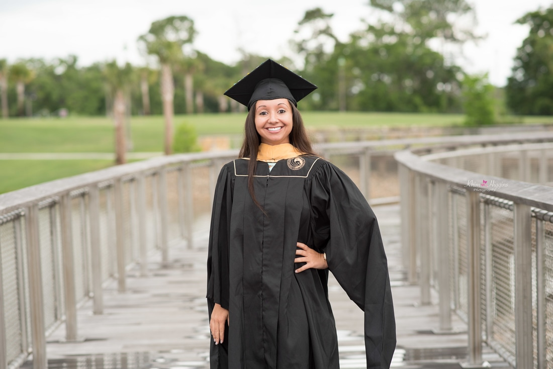 UCF Photographer/UCF Graduation Pictures/UCF Cap & Gown/Orlando UCF ...